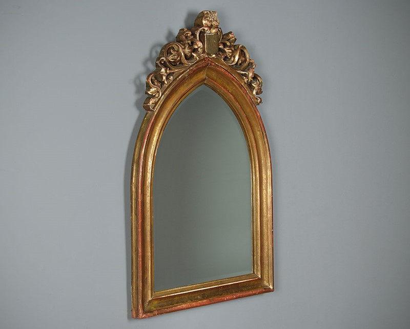 19th.c. Gothic Revival Gilt Frame Mirror c.1880.-collinge-antiques-img-5382-main-637334503045668188.jpg