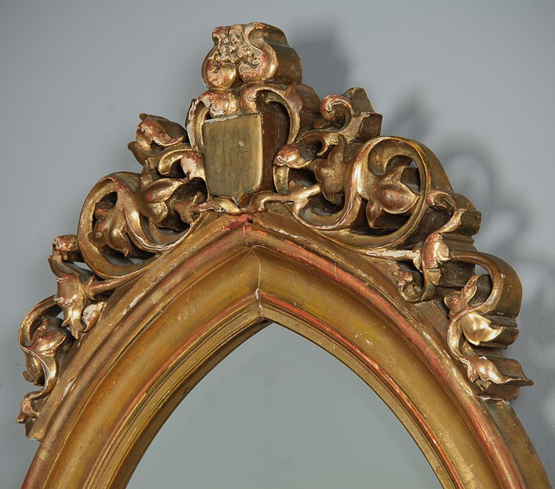 19th.c. Gothic Revival Gilt Frame Mirror c.1880.-collinge-antiques-img-5387-main-637334503061137211.jpg
