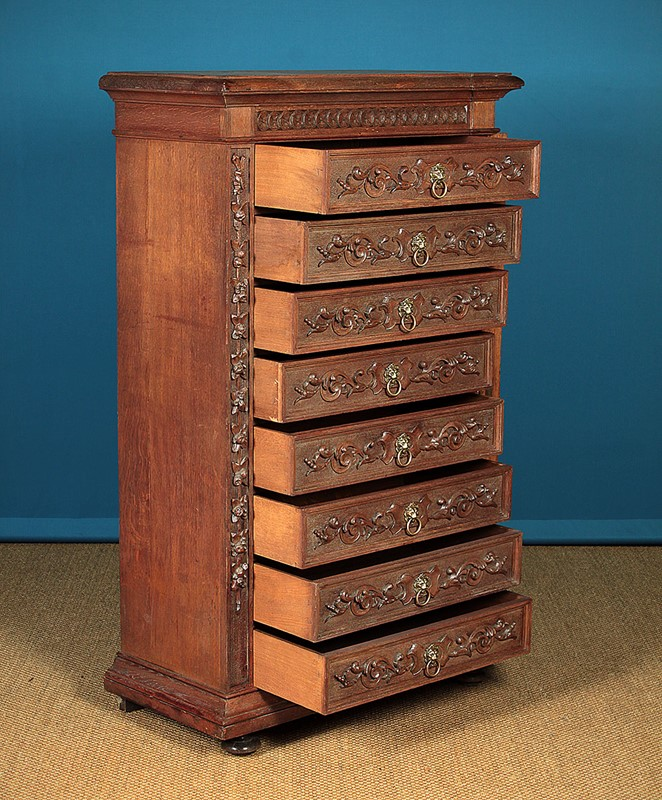 Carved Oak Bank of Drawers.-collinge-antiques-img-6176-main-637250692167227714.jpg