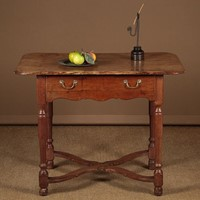 Early 19th.c. French Ash Side Table
