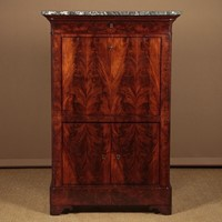 Mid 19th.c. French Mahogany Secretaire Abattant.