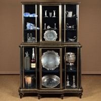 Late 19th.c. Bijouterie Shop Display Cabinet.