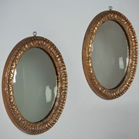 Pair Gilt Frame Wall Mirrors c.1930.