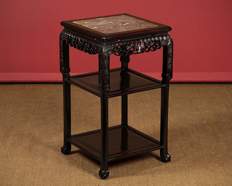 19th.c. Chinese Marble Top Three Tier Table.-collinge-antiques-img-8044-main-637387068660112600.jpg
