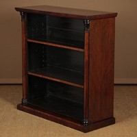 19th.c. Rosewood Open Bookcase.