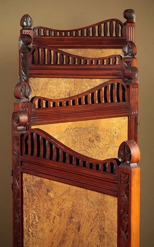Arts & Crafts Screen with Original Leather Panels.-collinge-antiques-img-8831-main-637257420605326732.jpg
