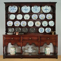 Exceptional 18th.c. Welsh Dresser.