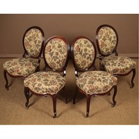Four 19th.c. Rosewood Dining Chairs.