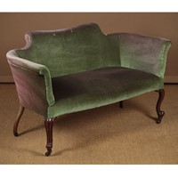 Small Unrestored Couch c.1880.