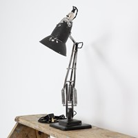 Black type 1 herbert terry anglepoise desk lamp