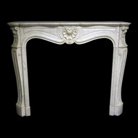 19thC French Chimneypiece in Louis XV manner
