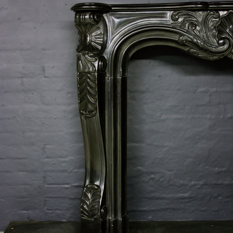 19thC Black Marble Chimneypiece in Louis XV Manor-cubbit-antiques-fireplace-blacklouisxv-closeup1-main-637068247878887405.jpg
