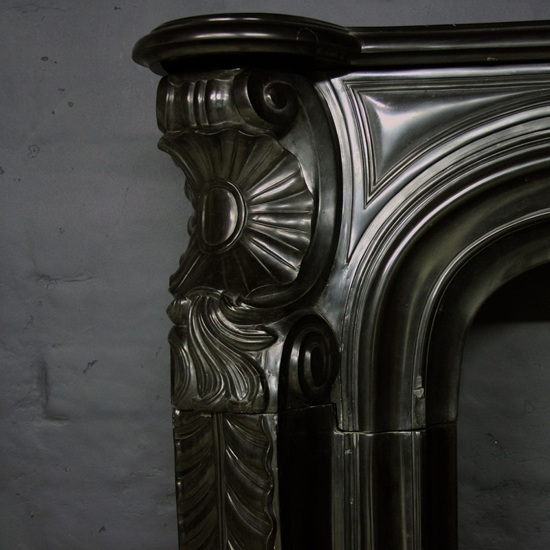 19thC Black Marble Chimneypiece in Louis XV Manor-cubbit-antiques-fireplace-blacklouisxv-closeup2-main-637068247998105481.jpg
