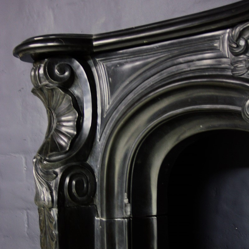 19thC Black Marble Chimneypiece in Louis XV Manor-cubbit-antiques-fireplace-blacklouisxv-closeup3-main-637068247773508288.jpg