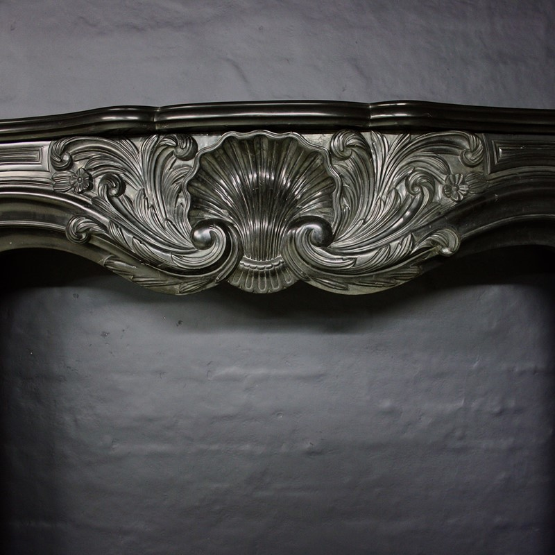 19thC Black Marble Chimneypiece in Louis XV Manor-cubbit-antiques-fireplace-blacklouisxv-frieze2-main-637068247639734951.jpg