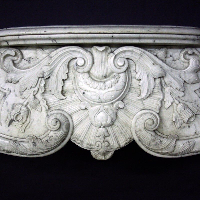 19th Century Louis XV Sicilian Marble Chimneypiece-cubbit-antiques-fireplace-sicilianmarblelouisxv-frieze2-main-637067471543067610.jpg