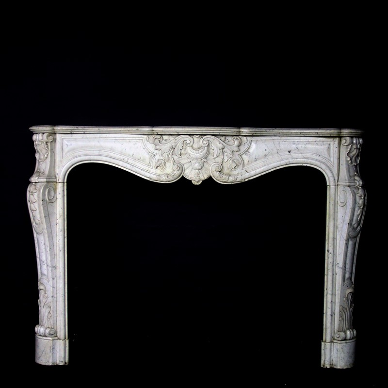 19th Century Louis XV Sicilian Marble Chimneypiece-cubbit-antiques-fireplace-sicilianmarblelouisxv-front1-main-637067470115415694.jpg
