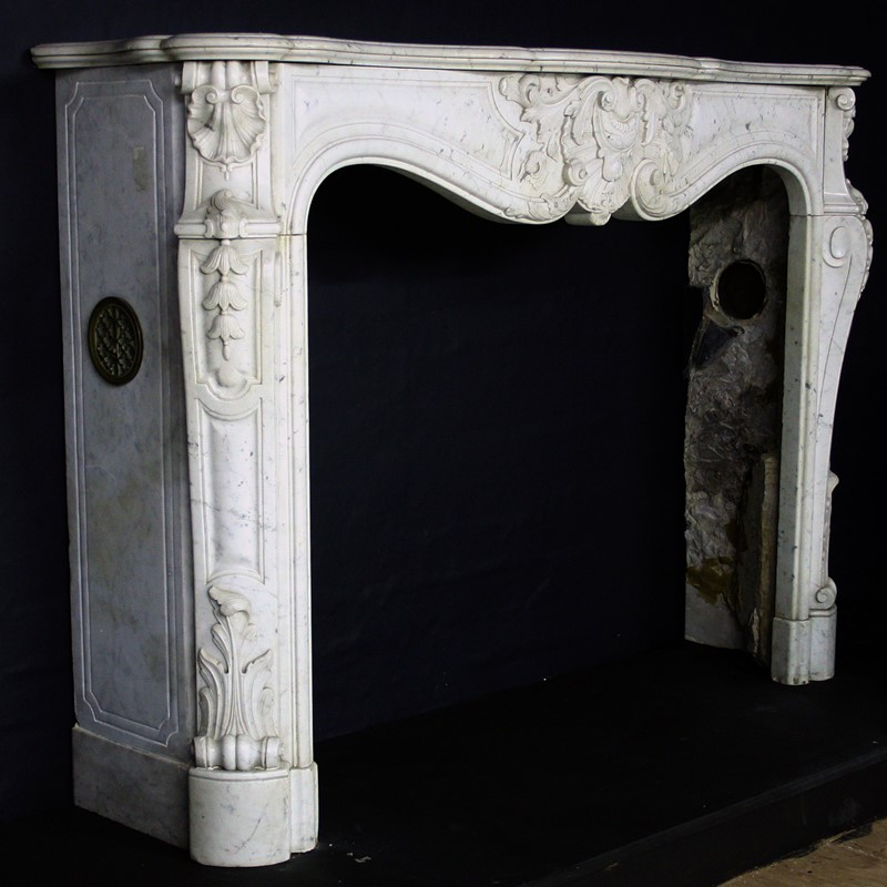19th Century Louis XV Sicilian Marble Chimneypiece-cubbit-antiques-fireplace-sicilianmarblelouisxv-front2-main-637067470307833219.jpg