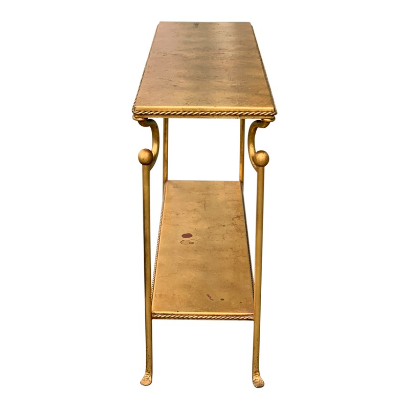 20th Century Console Table lined with Gold Leaf-cubbit-antiques-img-3086-main-636903380899702480.jpg