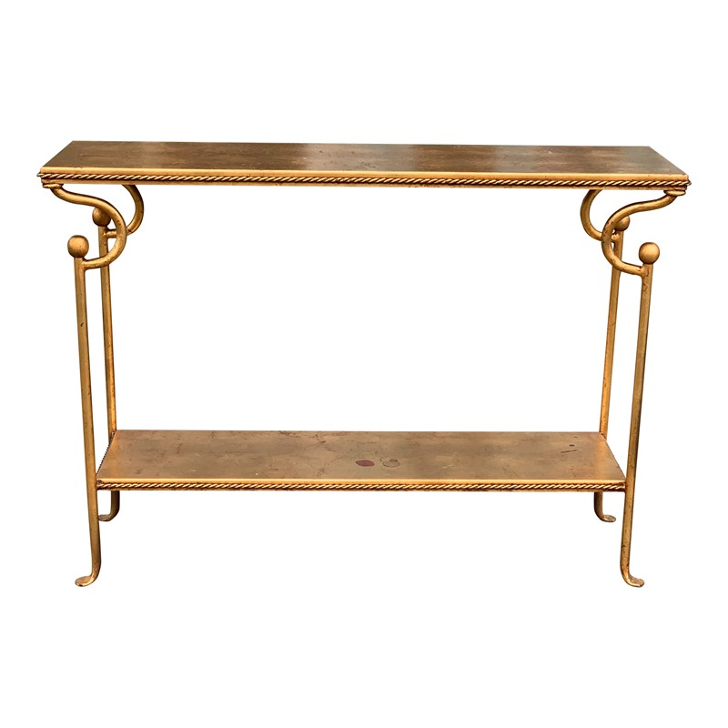 20th Century Console Table lined with Gold Leaf-cubbit-antiques-img-3089-main-636903381288137206.jpg