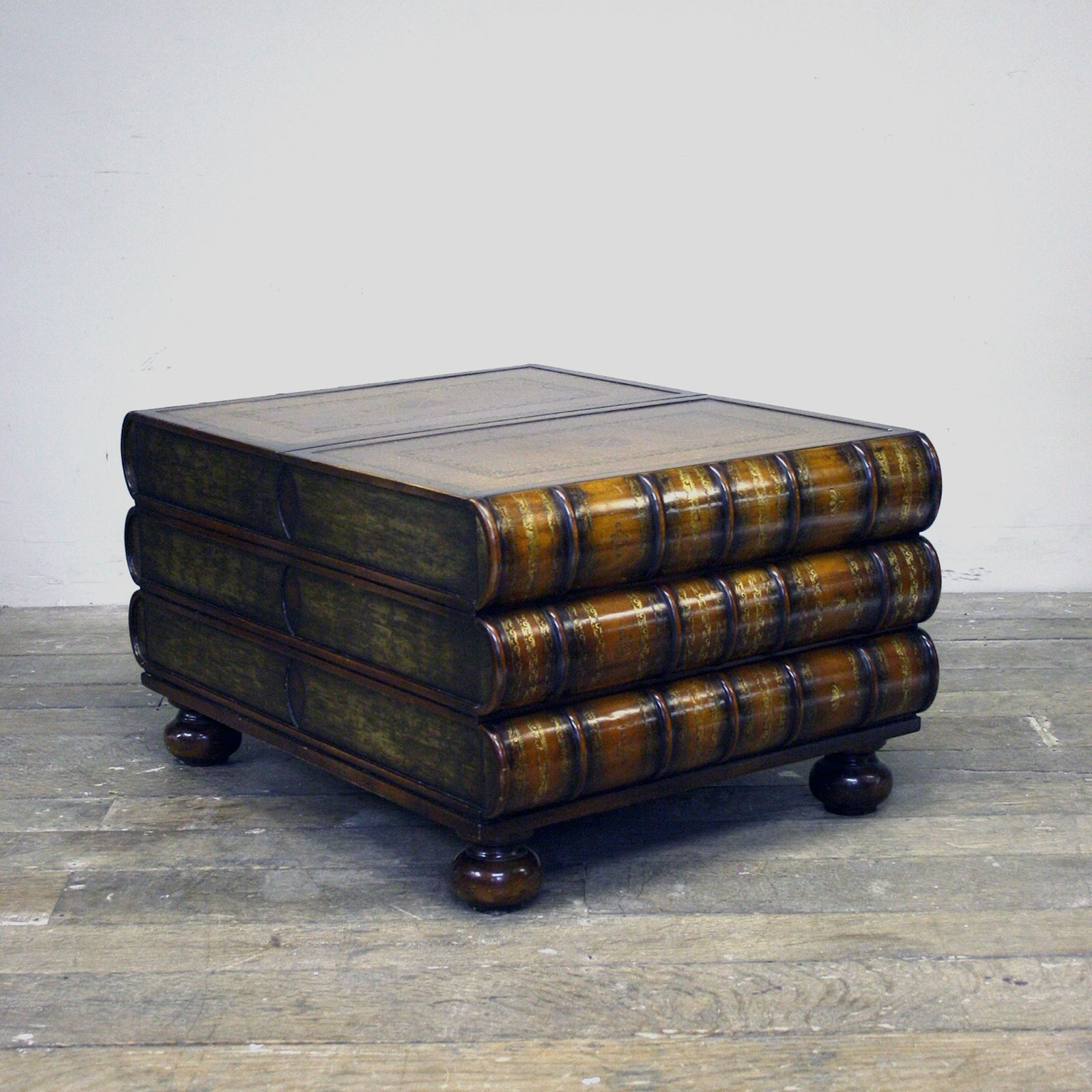 Maitland Smith Stacked Book Coffee Table Decorative Collective
