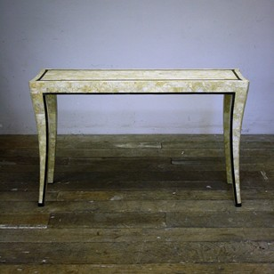 Maitland And Smith Travertine Console Table