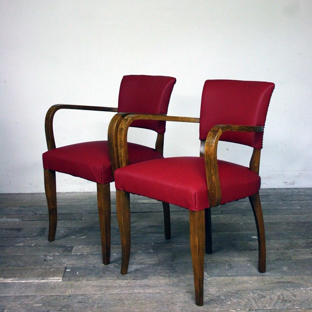1930's Reupholstered red leather bridge chairs-cubbit-antiques-interior_upholsteredredleatherbridge_angle_main_636026382607990760.jpg