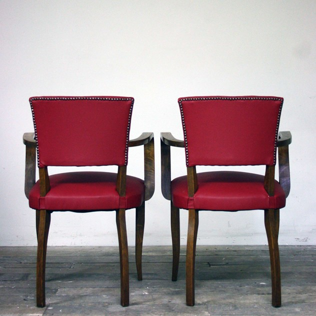 1930's Reupholstered red leather bridge chairs-cubbit-antiques-interior_upholsteredredleatherbridge_back_main_636026382814389344.jpg