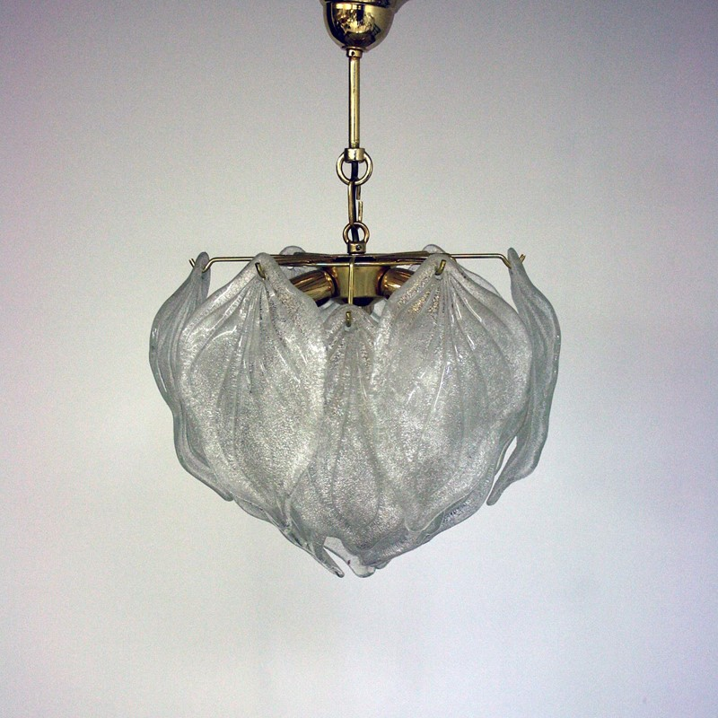 Small Elegant Murano Leaf Chandelier -cubbit-antiques-lighting-muranoleafchandelier-front1-main-637333637832013951.jpg