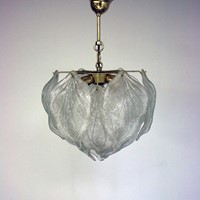 20th Century Murano Leaf Chandelier