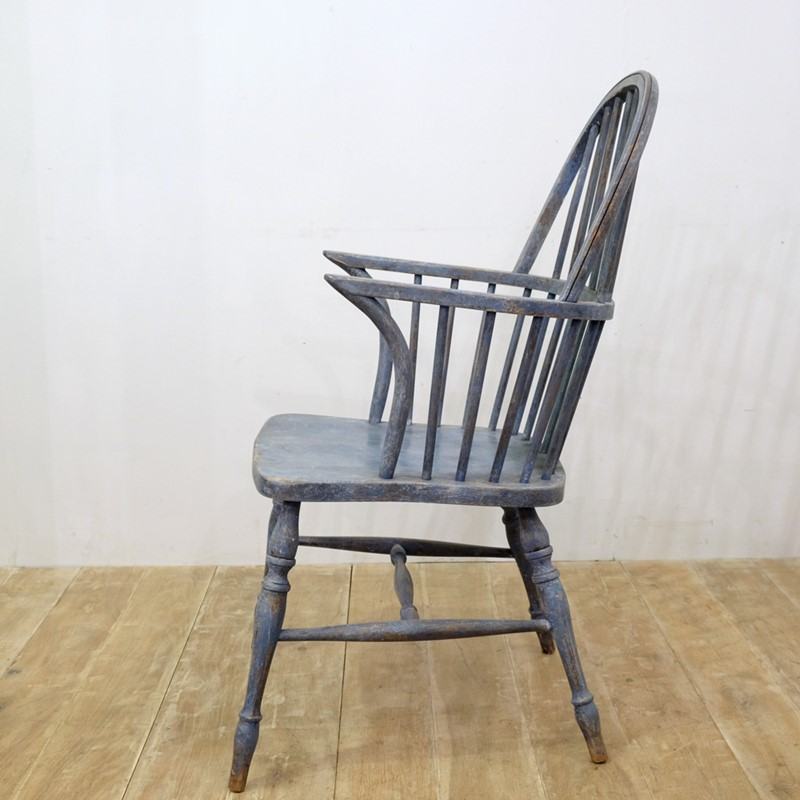 *SALE* Blue Antique Windsor Chair-cunningham-white-s-blue-painted-windsor-chair-6-main-636883474988917130.jpg