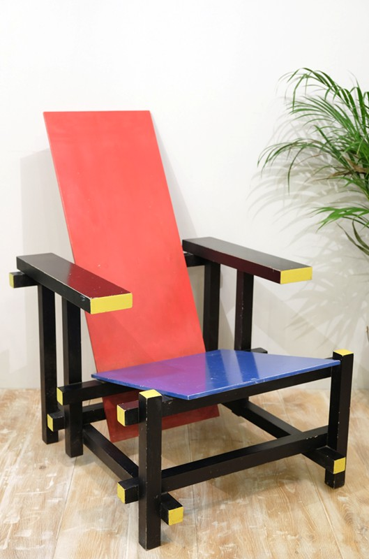 *SALE* Rietveld Red & Blue Chair-cunningham-white-s-red-and-blue-chair-2-main-636649940275782104.jpg