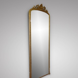 A Very Impressive Gilt Framed Mirror