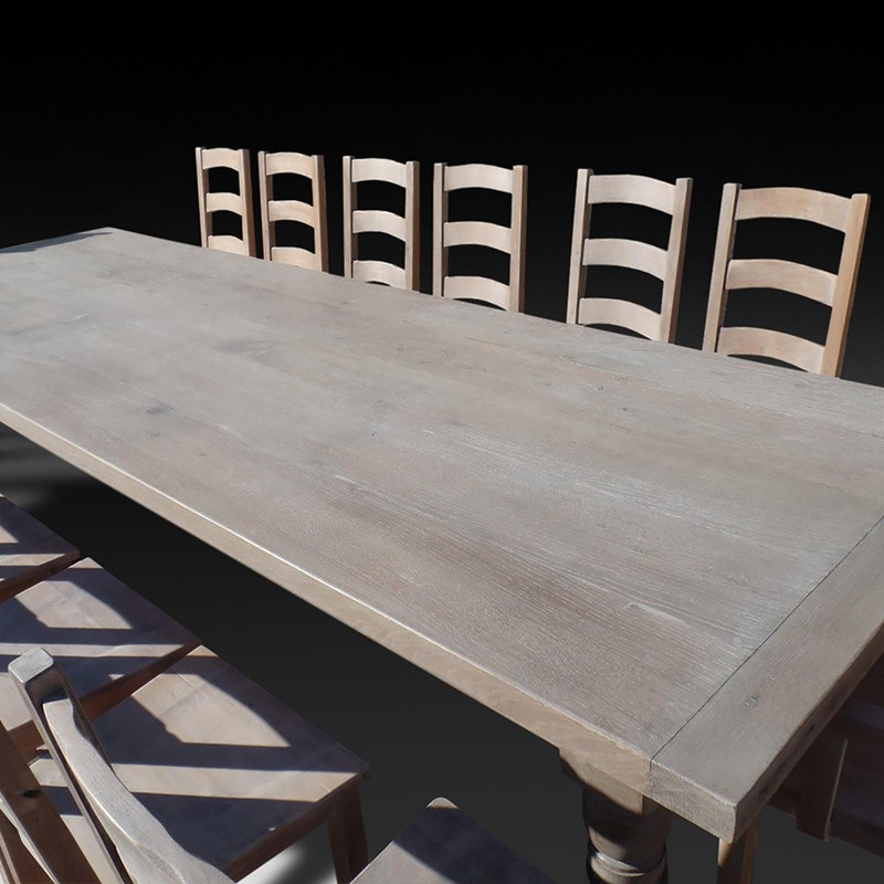 Beautiful Solid Oak Dining/Kitchen Table-d-j-hicks-antique-furniture-beautiful-solid-oak-dining-table-4-main-636765735402235131.jpg