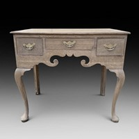 A Bleached Georgian Oak Lowboy