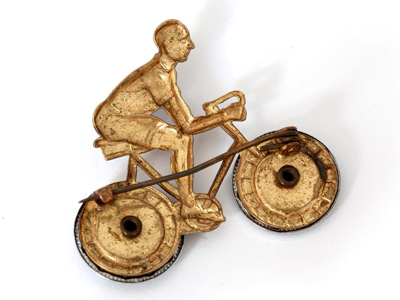 Charming Pressed Brass Cycling Brooch-david-griffith-antiques-50151-main-636765905630244684.jpg