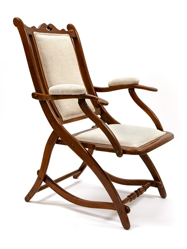 Chunky Reupholstered Mahogany Folding Chair-david-griffith-antiques-63479-main-637255647988471766.jpg