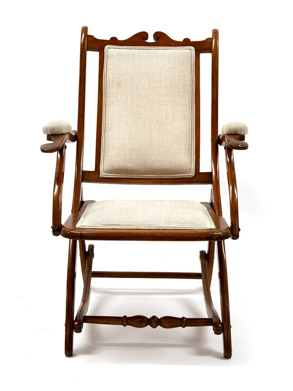 Chunky Reupholstered Mahogany Folding Chair-david-griffith-antiques-63481-main-637255647995972044.jpg