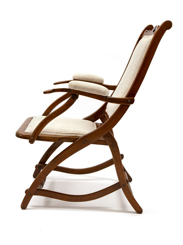 Chunky Reupholstered Mahogany Folding Chair-david-griffith-antiques-63485-main-637255648005502753.jpg