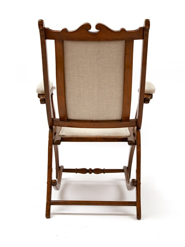 Chunky Reupholstered Mahogany Folding Chair-david-griffith-antiques-63487-main-637255648013627711.jpg