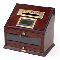 Mahogany Hotel or Country House Letterbox