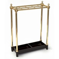 Knuckle Jointed Ten Section Brass Stick Stand