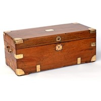 Brass Mounted Camphorwood Chest
