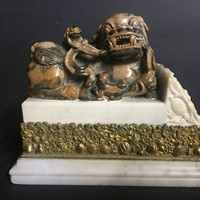 Chinese Soapstone Dog of Fo
