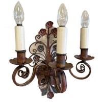 Set of 4 French wall lights