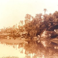 Panoramic Photograph of a River Scene A. Bougault