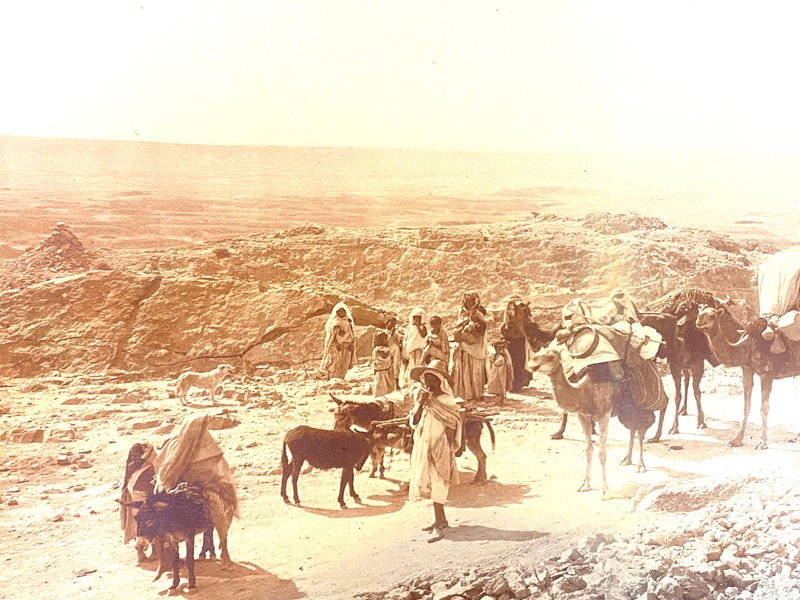 Panoramic Photograph of Camel Traders -david-tupman-antiques-img-1395-main-637278325808070252.jpg