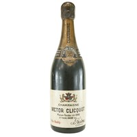 Decorative champagne bottle