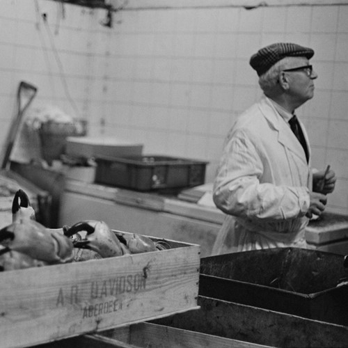 Billingsgate Fish Market 1981