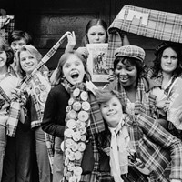 Bay City Rollers Fans, London 1976